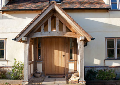 Oak framed porches